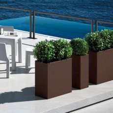 Daisy - Flowerpot for outdoor, different colours and sizes, resistant to UV