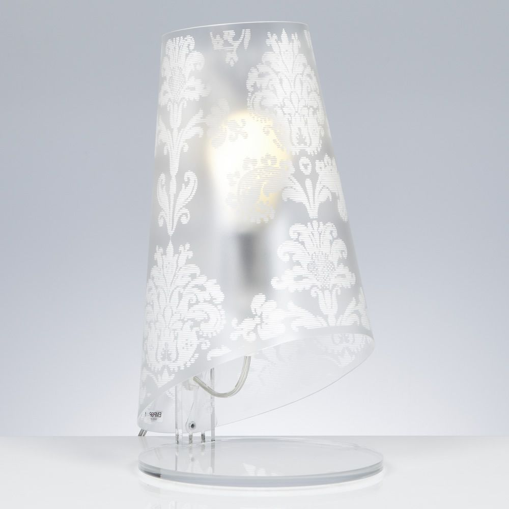 Table lamp in polycarbonate - white