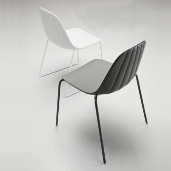 Babah - Chair in metal and polyurethane, for bars and restaurants