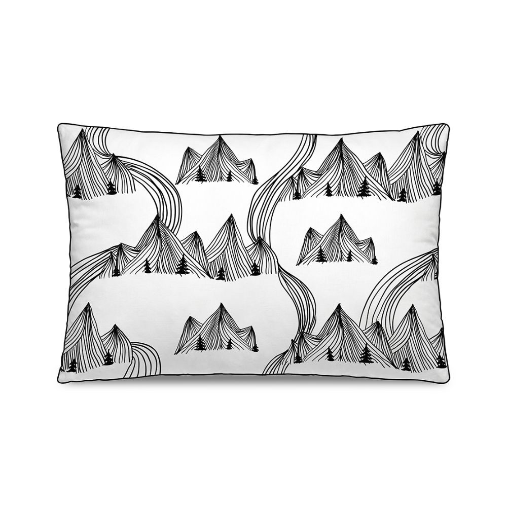Cushion with removable cover by Pôdevache, 60 x 40 cm