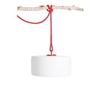 Thierry Le Swinger - Pendellampe Fatboy, LED, ohne Kable, in der Farbe Rot