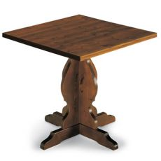 AV63 - Square wood table, different sizes and finishes available