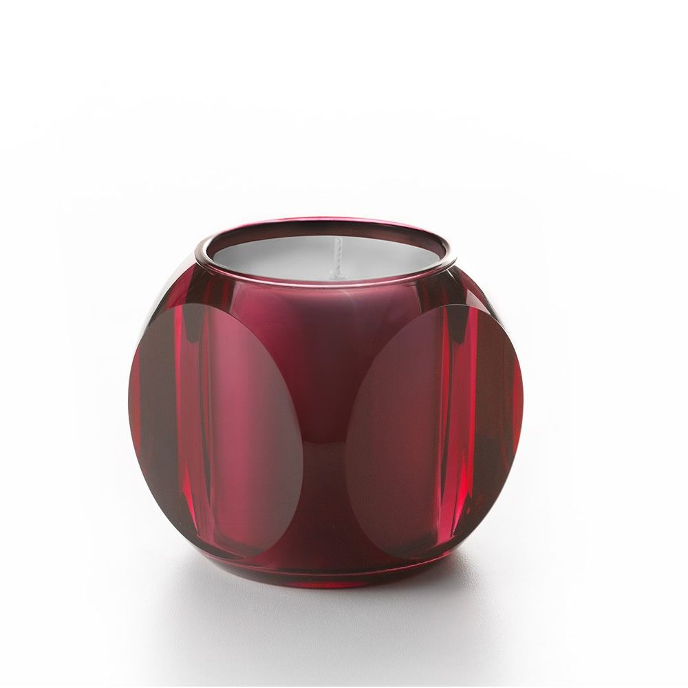 Kartell candle in pink colour