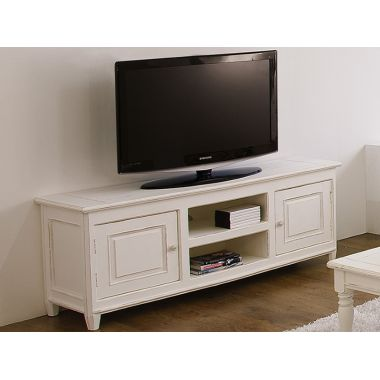 Black Oak TV Stand Entertainment Center For TVs Up To 52 Set W// Plastic Stopper