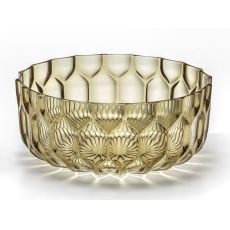 Jellies Family T - Kartell design salad bowl in polymethylmethacrylate, available in several colour