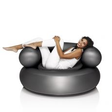 Ch-Air - Inflatable chair Fatboy in PVC plastic, with pillow, several colors available