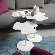 Flower - Bontempi Casa design side table, in metal, available in different sizes