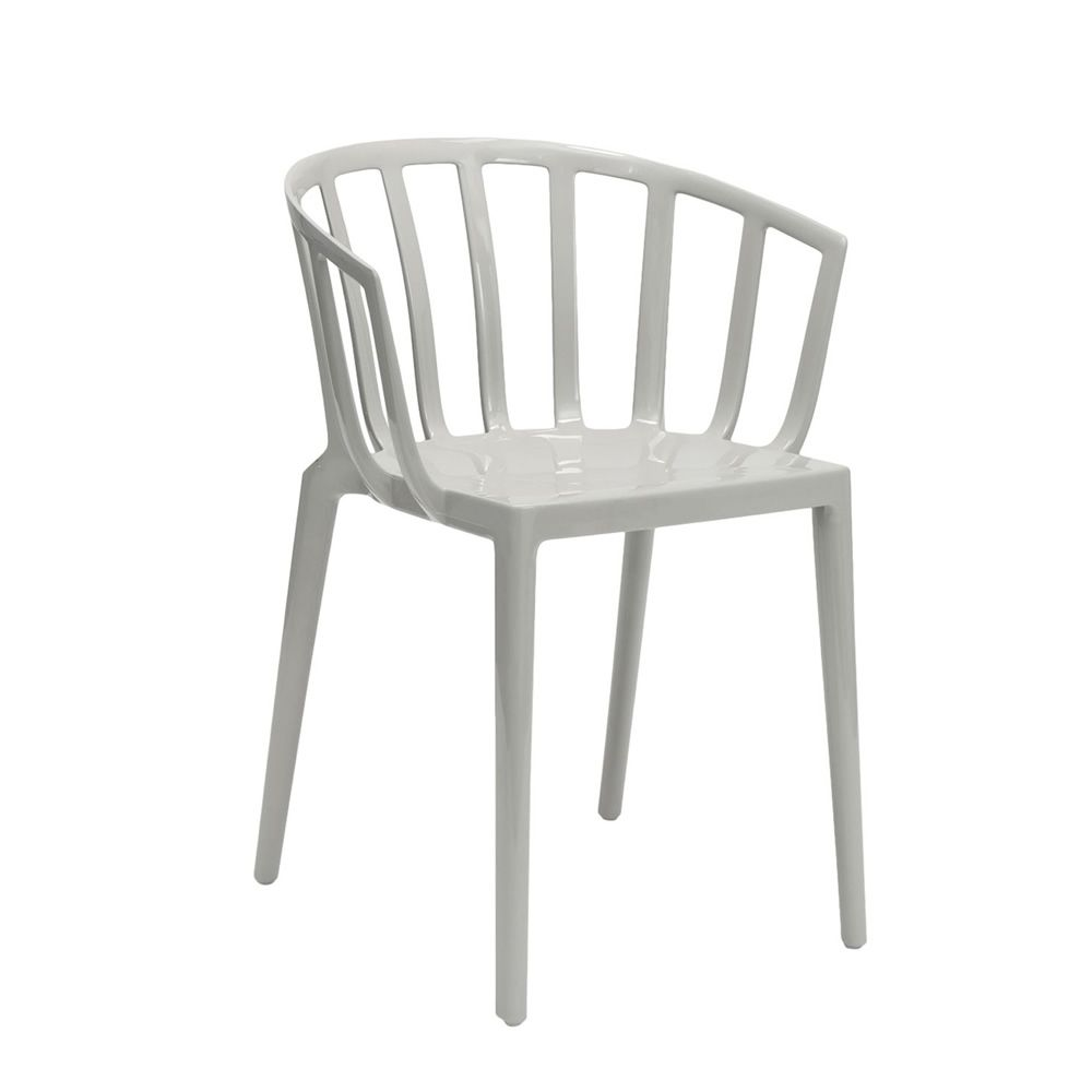Kartell design chair, in grey colour