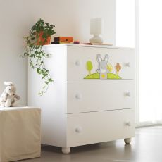 Smart Bosco C - Chest of drawers Pali with three drawers