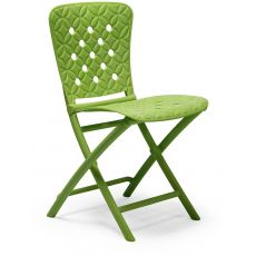 Zac Spring - Folding chair in polypropylene, for garden