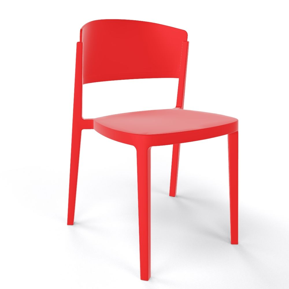Abuela Technopolymer seat Red