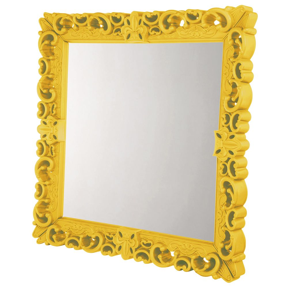 Mirror of Love Grandeur Grand Couleur Jaune safran
