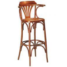 SE600SG - Vienna style stool in wood, several colours and seats available