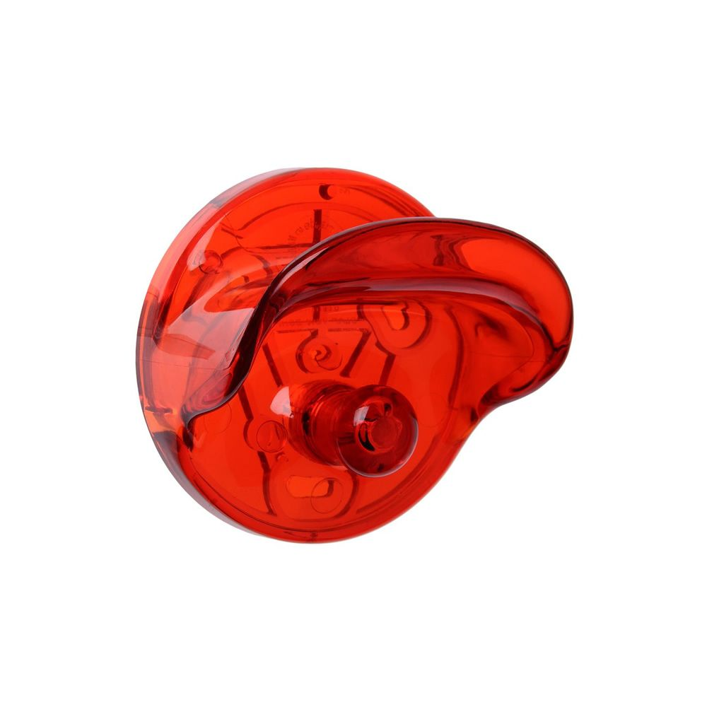 Wall Clothes Hook Polycarbonate Transparent Rouge. Livraison Rapide