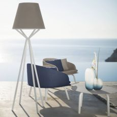 Cleo Alu LT - Outdoor lamp, with aluminium frame