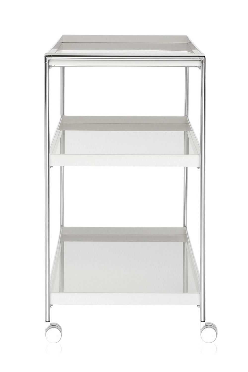 Kartell trolley, with white top