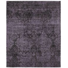 Blake Grey - Modern rug in vegetable silk, in several sizes