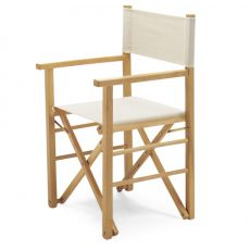 Montecarlo - Folding chair, director stile