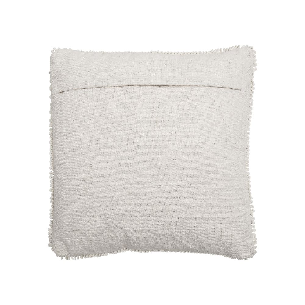 Cotton cushion by Bloomingville, 55 x 30 cm, Squares model