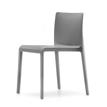 Volt 670 - Chair made of polyethylene, anthracite grey colour