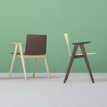 Osaka 2815 - Design chair in ash