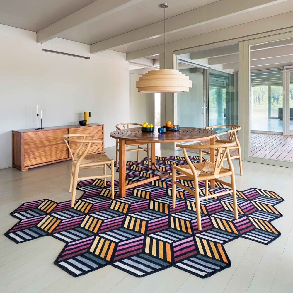 Design rug, L-large size