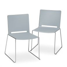 ML170 G - Metal and polypropylene chair, stackable