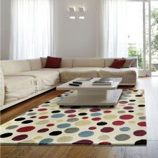 Argo Pois - Modern carpet with pois pattern, several sizes