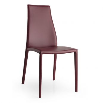CS1484 Aida Plus - Chair entirely covered with leather