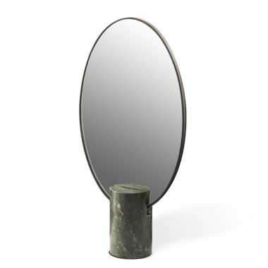 Mirror Oval Marble