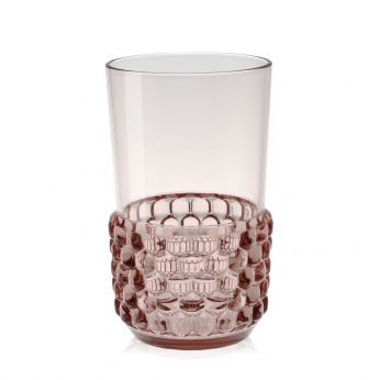 Jellies Family - Bicchiere Kartell, rosa (L)