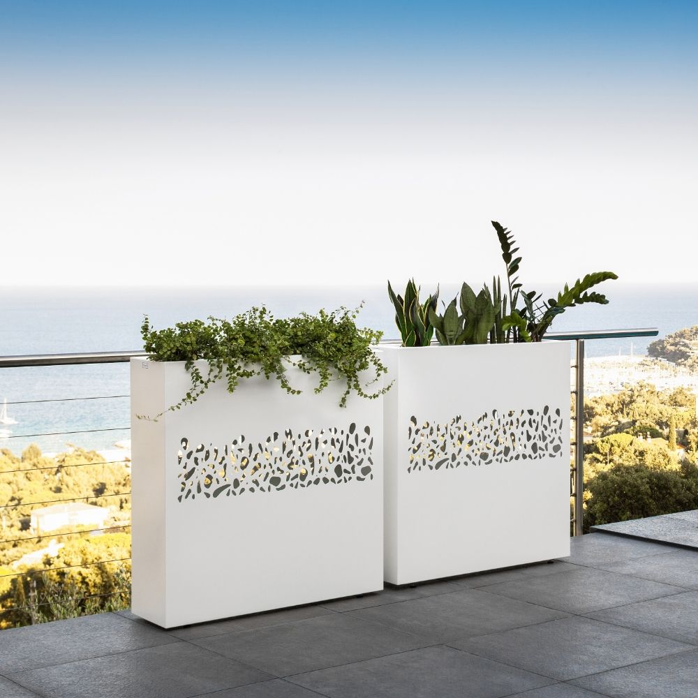 Talenti design planter with carved decoration