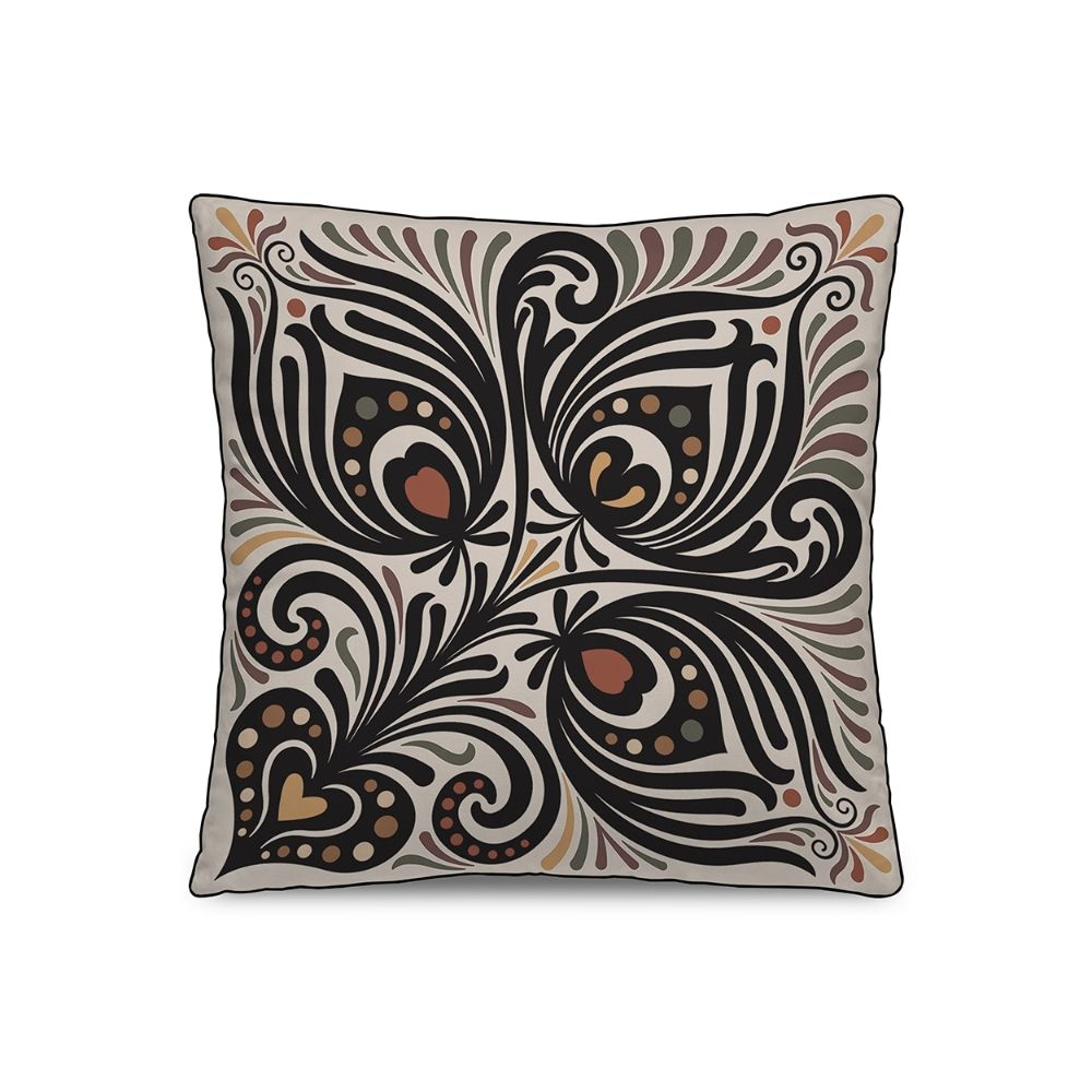 Square cushion with removable cover by Pôdevache, 45 x 45 cm