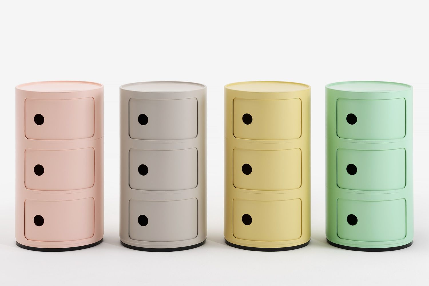 Design Kartell container, with three drawers