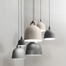 Bell - Normann Copenhagen pendant lamp made of aluminium, different sizes available