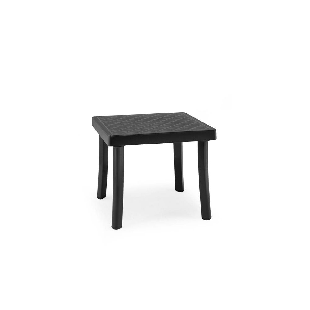 Low table in anthracite polypropylene