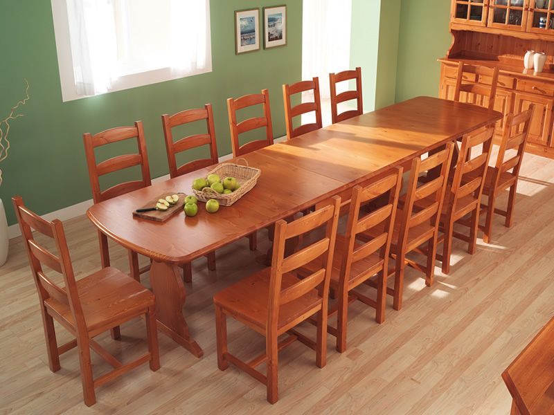 Pune wood table, size 370x90 cm - AVAILABLE ON REQUEST