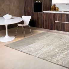 Rome - Design rug in wool and vegetal silk, available in several sizes