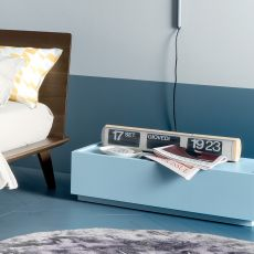 Super-N - Dall'Agnese night stand made of wood, different finishes and sizes available, one drawer