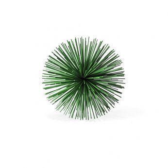 Prickle Brass green - Pols Potten decoration, in green-finish metal, S