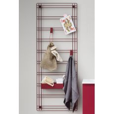 Sapone - Storage grid in metal, available in different colours