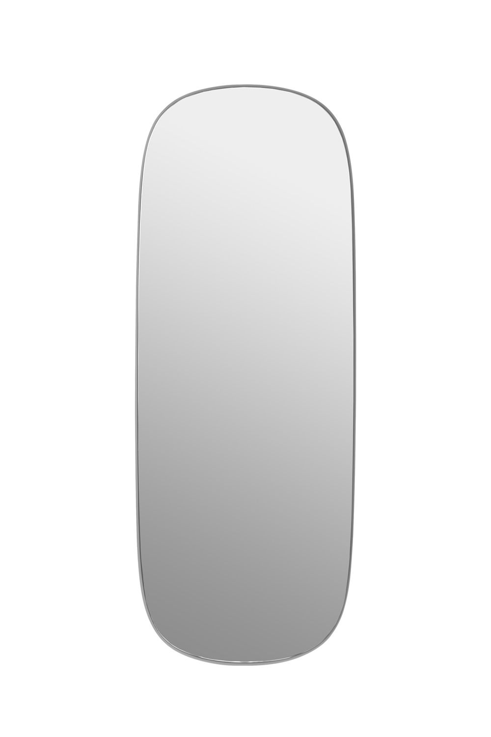 Miroir design Muuto, grand, gris