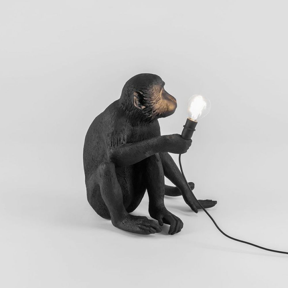 Complementos: Monkey Lamp Sitting