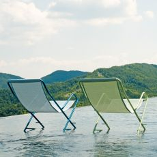 Bahama 170 - Emu beach chair, folding, in metal