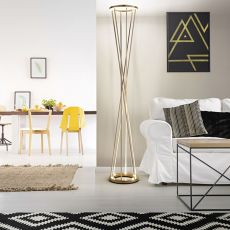 FA3369LT - Floor lamp made of metal, LED lighting