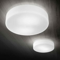 FA3209SL - Ceiling or wall lamp, in blown glass, also with LED lighting, available in different sizes
