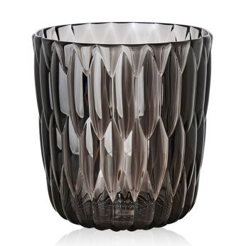 Jelly - Vaso-contenitore Kartell in fumé