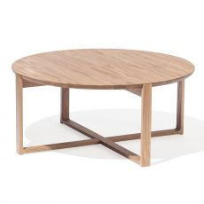 Delta-coffee 724 - Table basse ronde Ton, en bois