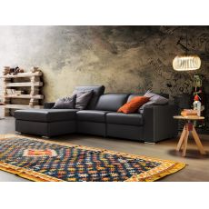 Drive - 2XL modern sofa, with relax position and chaise longue