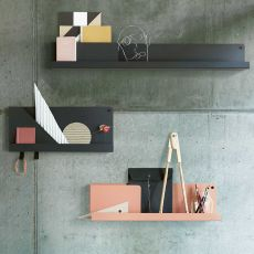 Folded Shelves - Estante de pared Muuto, en metal, disponible en varias medidas